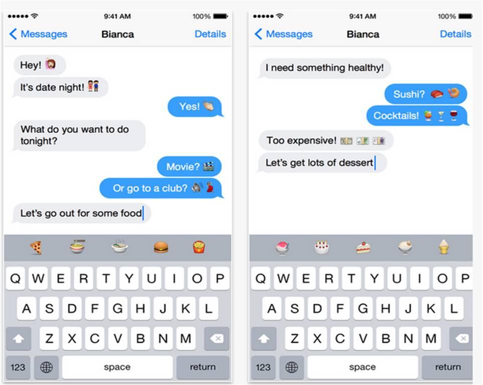 Emoji Type migliori tastiere per iPhone