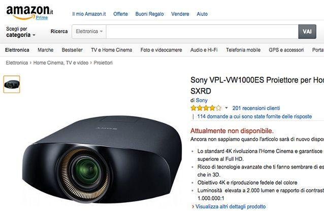 Sony-Proiettore-Amazon