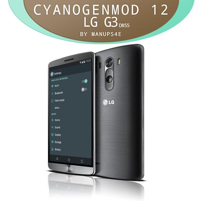 CyanogenMod 12 vs firmware stock LG G3
