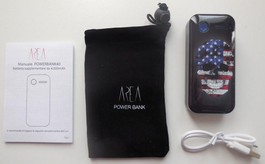 power bank area contenuto