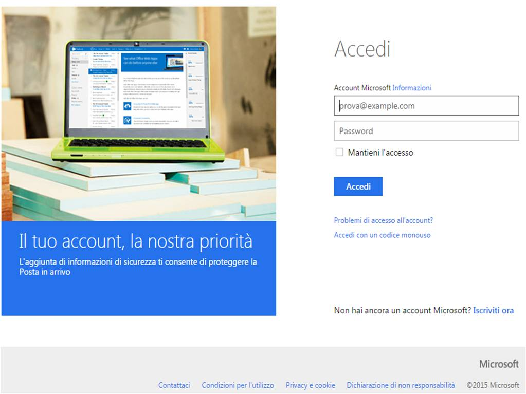 Come sbloccare account Outlook, Hotmail e Live