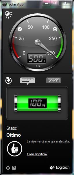 logitech k750 solar app