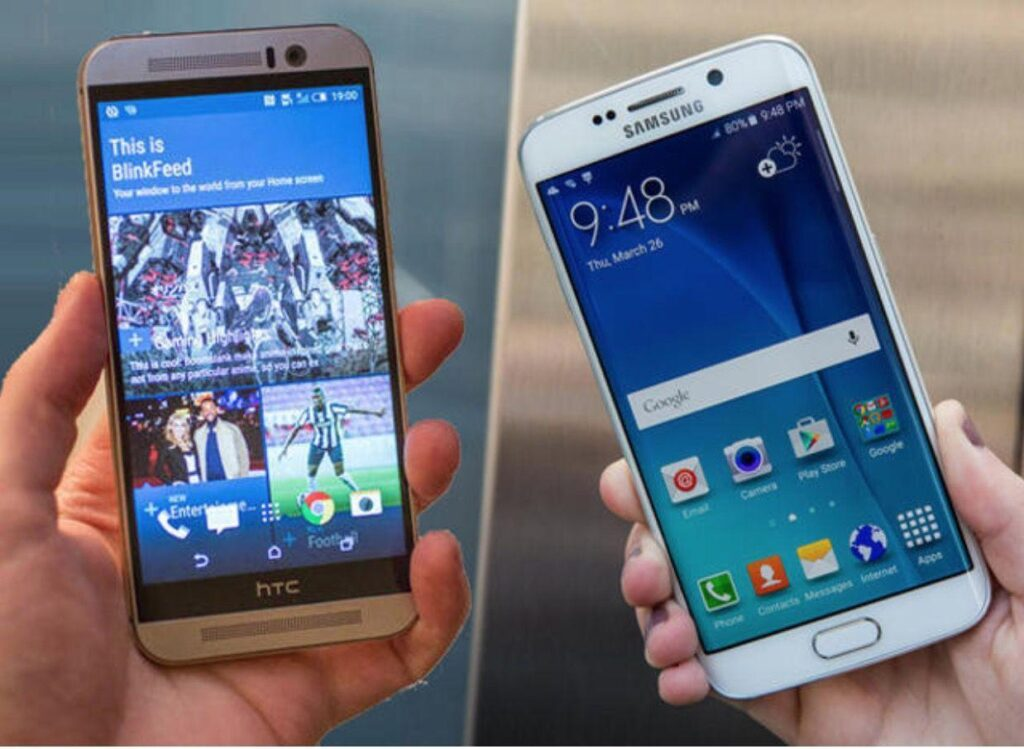 5 motivi per preferire HTC One M9 a Samsung Galaxy S6 Edge