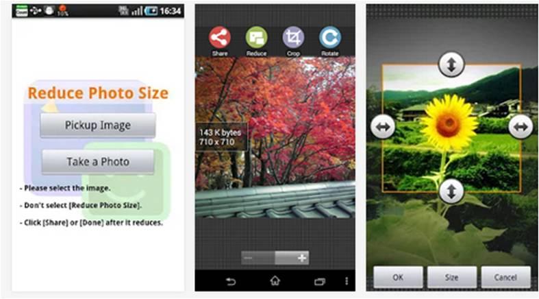 Reduce Photo Sizer migliori applicazioni per rimpicciolire foto su Android