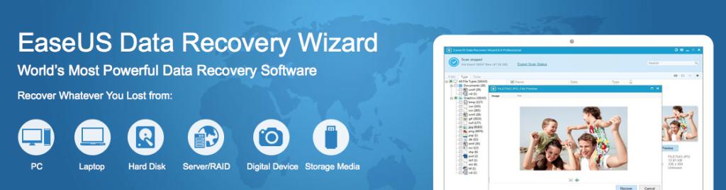 EaseUS Recovery Wizard per Mac