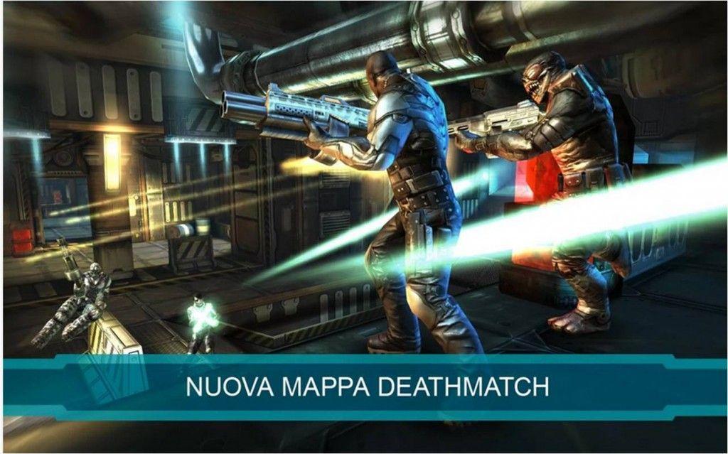 Shadow Gun Deadzone migliori giochi multiplayer gratis per Android