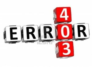 errore 403  Android