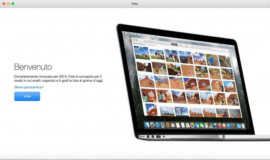Come modificare le foto su Mac con Foto OS X
