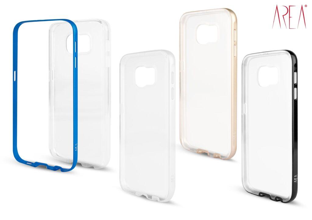 Crystal Bumper DUO Area per Galaxy S6 colori