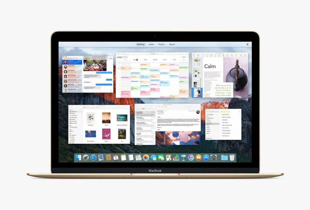 Finestre migliorate Mac OS X 10.11 El Capitan