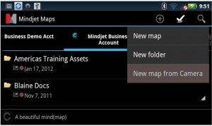 Mindjet Maps for Android mappe cognitive