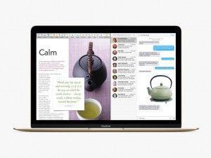 Splitscreen Mac OS X El Capitan