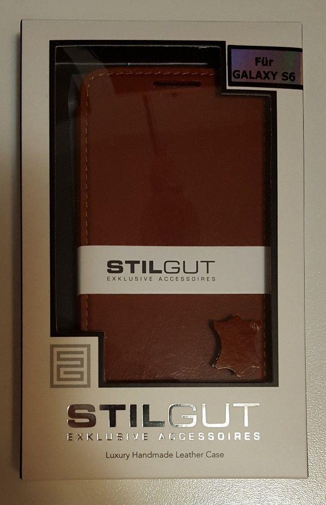 StilGut Book Type per Galaxy S6 confezione
