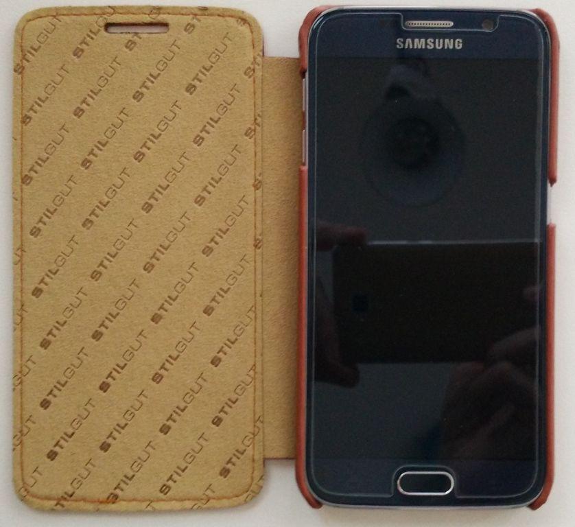 StilGut Book Type per Galaxy S6 interno con s6