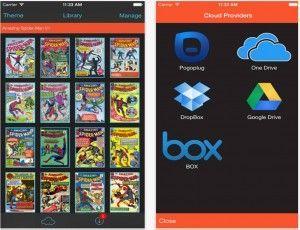 iComix le migliori applicazioni per leggere fumetti da iPad