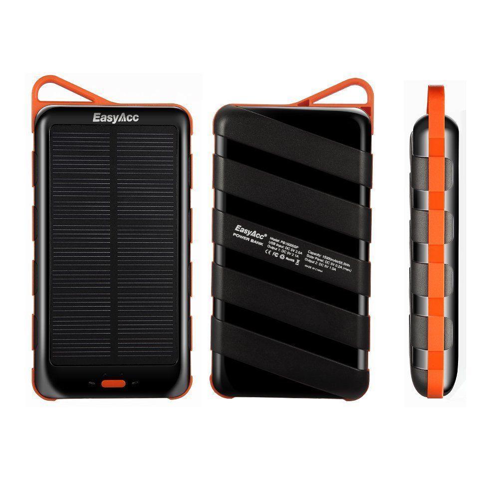 EasyAcc 15000mAh Solar Power Bank  desin