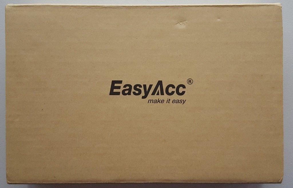 EasyAcc 15000mAh Solar Power Bank scatola