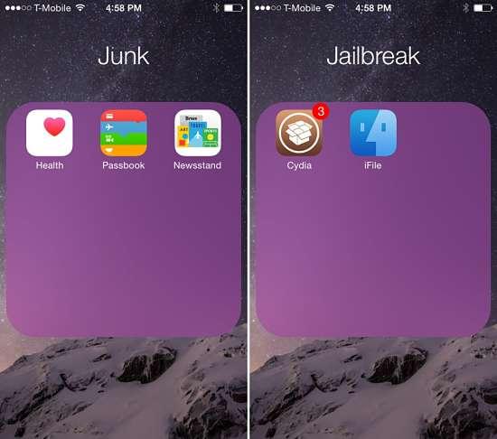 Folderix i migliori tweak per iOS 8