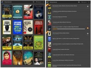 Kindle app per scaricare libri gratis su Android