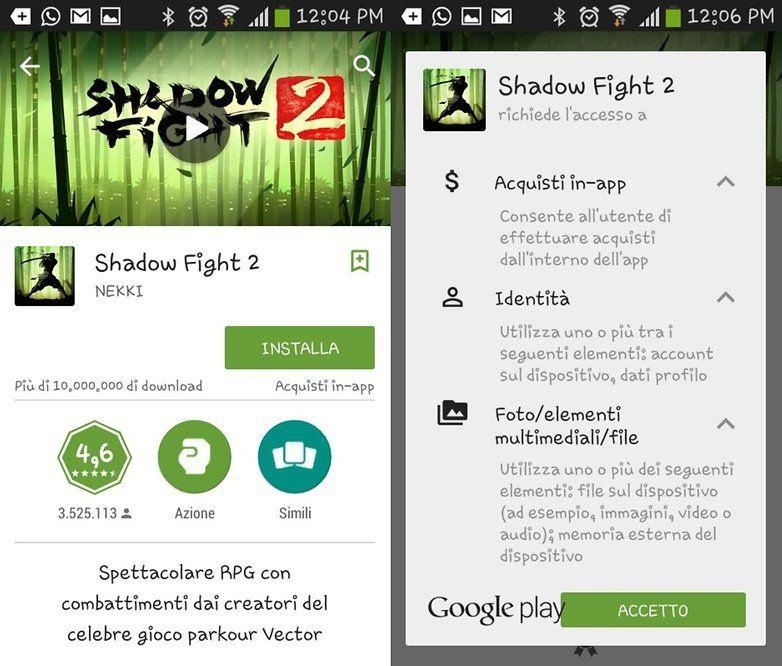 Come rimuovere i permessi dalle app android - Rubrica android colori diversi ...