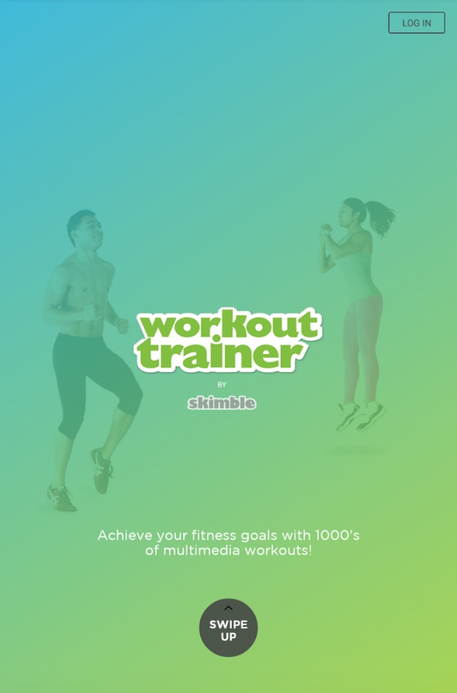 personal trainer workout app