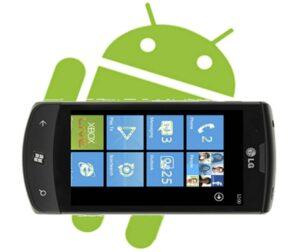 trasferire contatti da Windows Phone ad Android