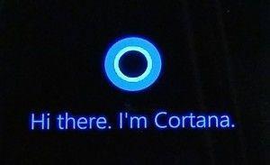 Cortana su Windows 10