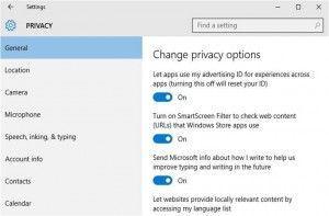 Windows 10 come proteggere privacy e dati sensibili
