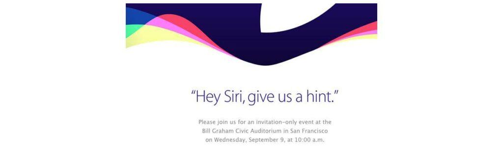 apple presenterà i nuovi iphone il 9 settembre