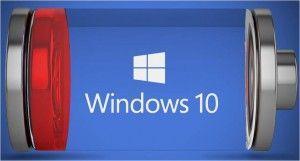 batteria Windows 10 report