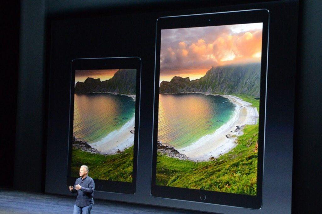apple presenta il tanto atteso iPad pro