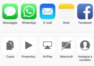 iOS 9 come nascondere foto