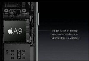 iPhone 6S Plus processore Apple A9