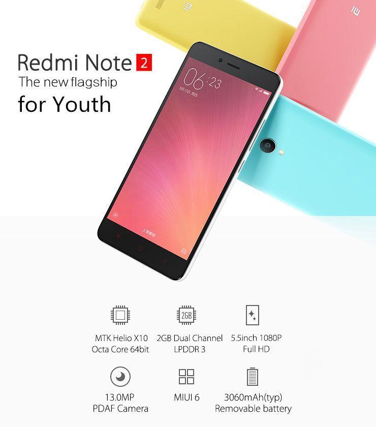 xiaomi redmi note 2 flagship