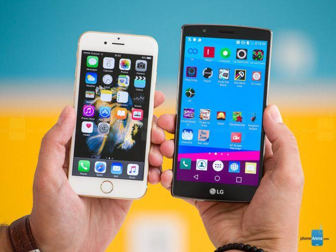 iPhone 6S vs LG G4