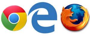 Microsoft Edge vs Google Chrome e Mozilla Firefox