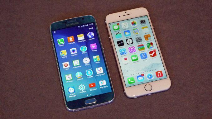 S6 vs iPhone 6S