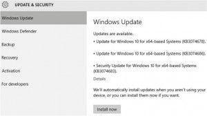 come bloccare gli aggiornamenti automatici di Windows 10
