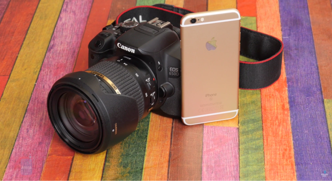 iPhone 6S vs Canon