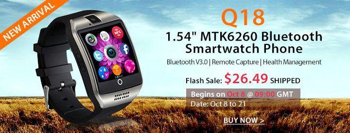 q18 smartwatch prezzo