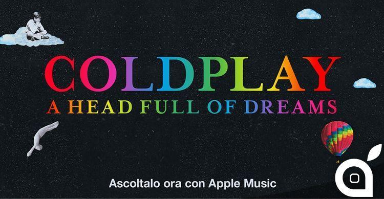 coldplay album apple