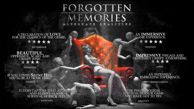 Forgotten Memories Alternate Realities i migliori giochi horror a pagamento per iPhone