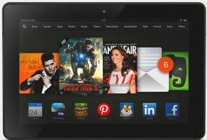 Kindle Fire HDX 8 sesto tablet durata batteria