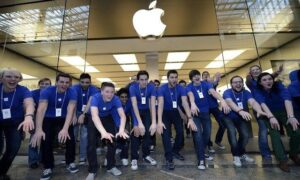 lavorare in apple