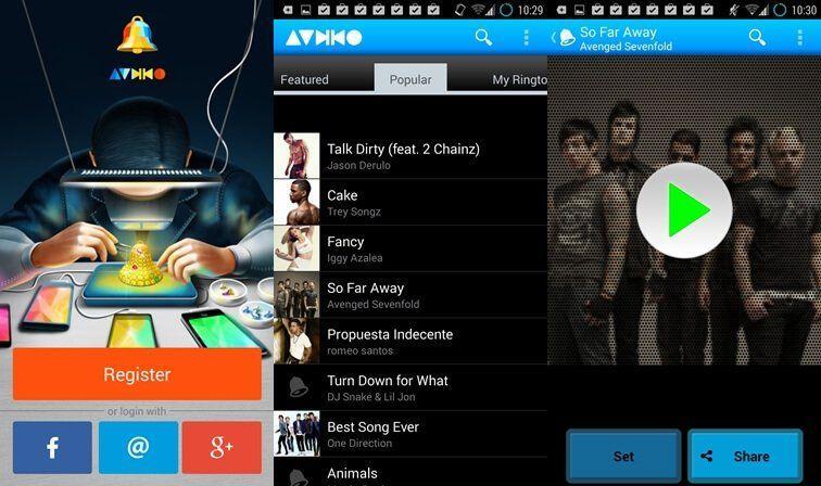 Audiko le migliori app Android per scaricare suonerie per notifiche