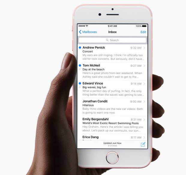 Mail AirDrop su iOS 9.2 come inviare allegati di grosse dimensioni da iPhone e iPad