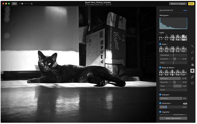 Photos I migliori software per modificare immagini su Mac