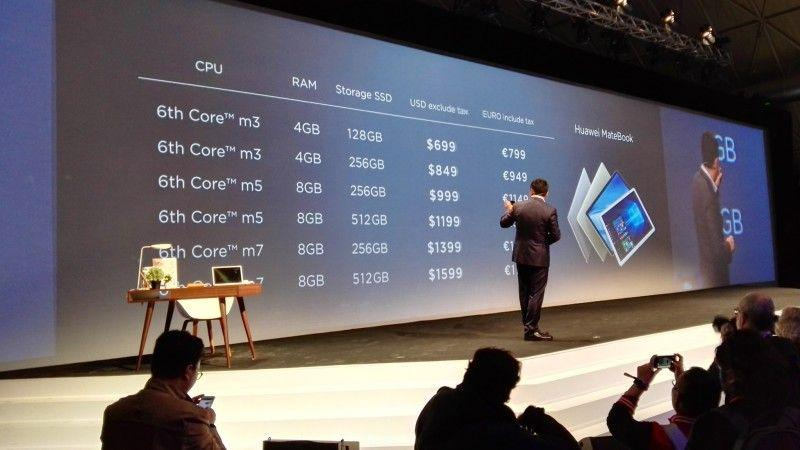 prezzi Huawei MateBook