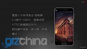 trapelate le caratteristiche di Xiaomi Mi5