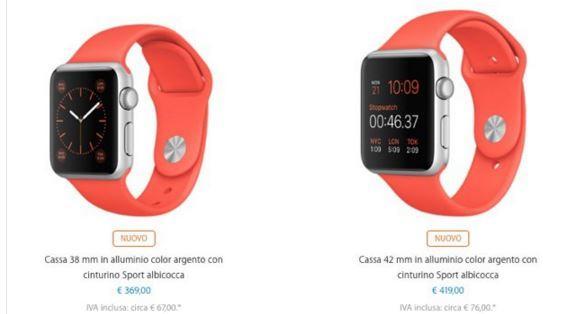 Apple Watch cinturini nuovi